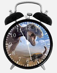 Dinosaur Alarm Desk Clock 3.75 Home or Office Decor E324 Nice For Gift