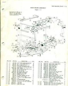 john deere 5400 wiring diagram vermeer baler ebay  vermeer baler ebay
