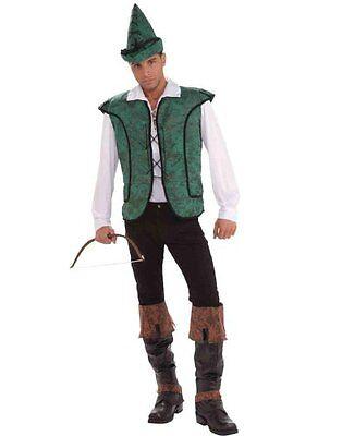 Robin Hood - Adult Classic Archer Costume - Robin Hood Mens Costume