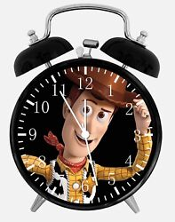 Disney Toy Story Alarm Desk Clock 3.75 Home or Office Decor W81 Nice For Gift