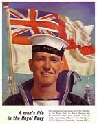 Royal Navy Poster