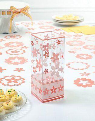 Coral Wedding Centerpieces (6 Coral Flower Floral  Centerpiece Wedding Centerpieces Party Decoration)