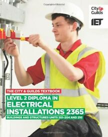 City and guilds electrical level 2 book. Used