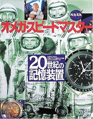 Omega Speedmaster Watch Guide Manual History Book NASA apollo 13 Japan USED