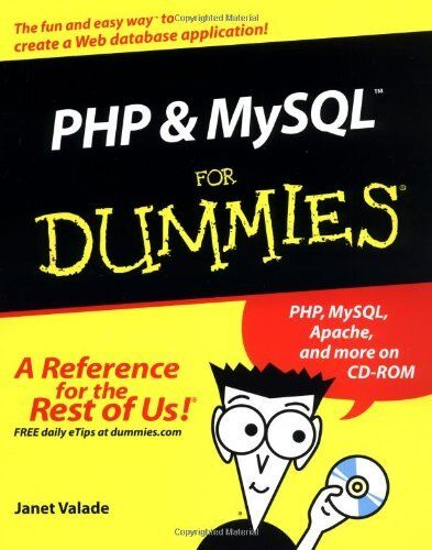 PHP and MySQL for Dummies (For Dummies (Computers)),Janet Valade