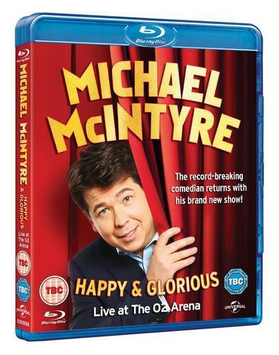 Michael McIntyre: Happy and Glorious [Blu-ray]