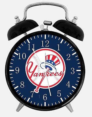 """New York Yankees Alarm Desk Clock 3.75"""" Home or Office Decor W103 Nice For Gifts"""