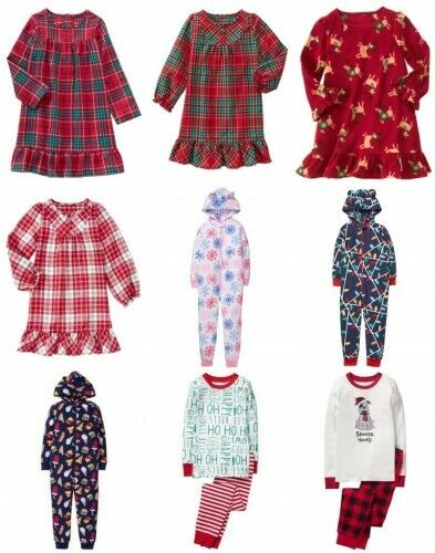 NWT Gymboree Holiday Pajamas 2pc Cotton Top and Pants Set Pajama Clearance!