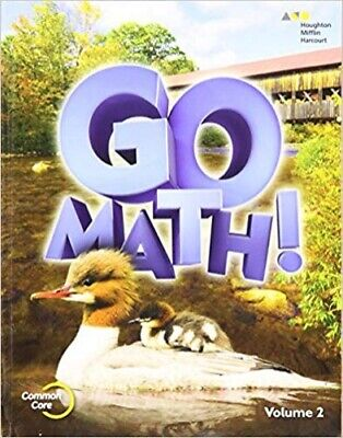 2nd Grade 2 Go Math Volume 2 Student Edition 2015 Common Core (Common Core 2nd Grade)