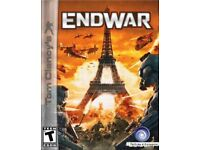 Tom Clancy's: End War (PC DVD) new and sealed only £1.50
