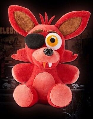 "Fnaf Five Nights At Freddy's Foxy Pirate Plush Soft Toy Doll 7-11"" Kids Baby Toy"