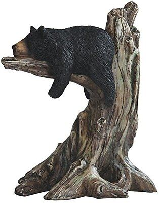 StealStreet SS-G-54292 Black Bear sleeping on Tree Branch Figurine, 9