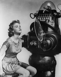 Anne-Francis-Robby-the-Robot-Forbidden-Planet-Print-14-x-11