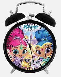 Shimmer and Shine Alarm Desk Clock 3.75 Home or Office Decor E398 Nice For Gift