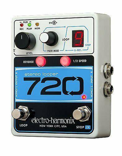 Electro Harmonix 720 Stereo Looper *Free Shipping in The USA*