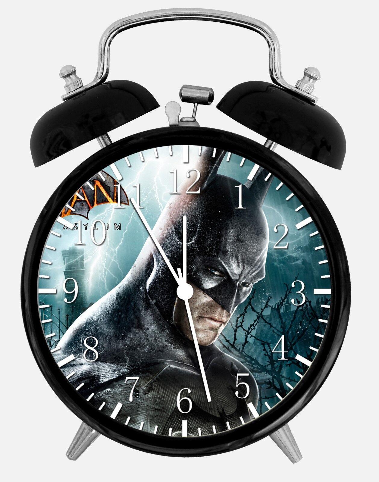 "Batman Alarm Desk Clock 3.75"" Room Office Decor W140 Nice For Gift"