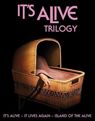 Halloween Trilogy Blu Ray (IT'S ALIVE TRILOGY New Sealed Blu-ray It Lives Again Island of the)