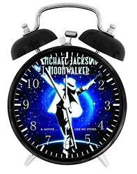 Michael Jackson Alarm Desk Clock 3.75 Home or Office Decor W167 Nice For Gift