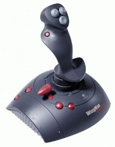 Logitech WINGMAN Interceptor 9-buttons Joystick