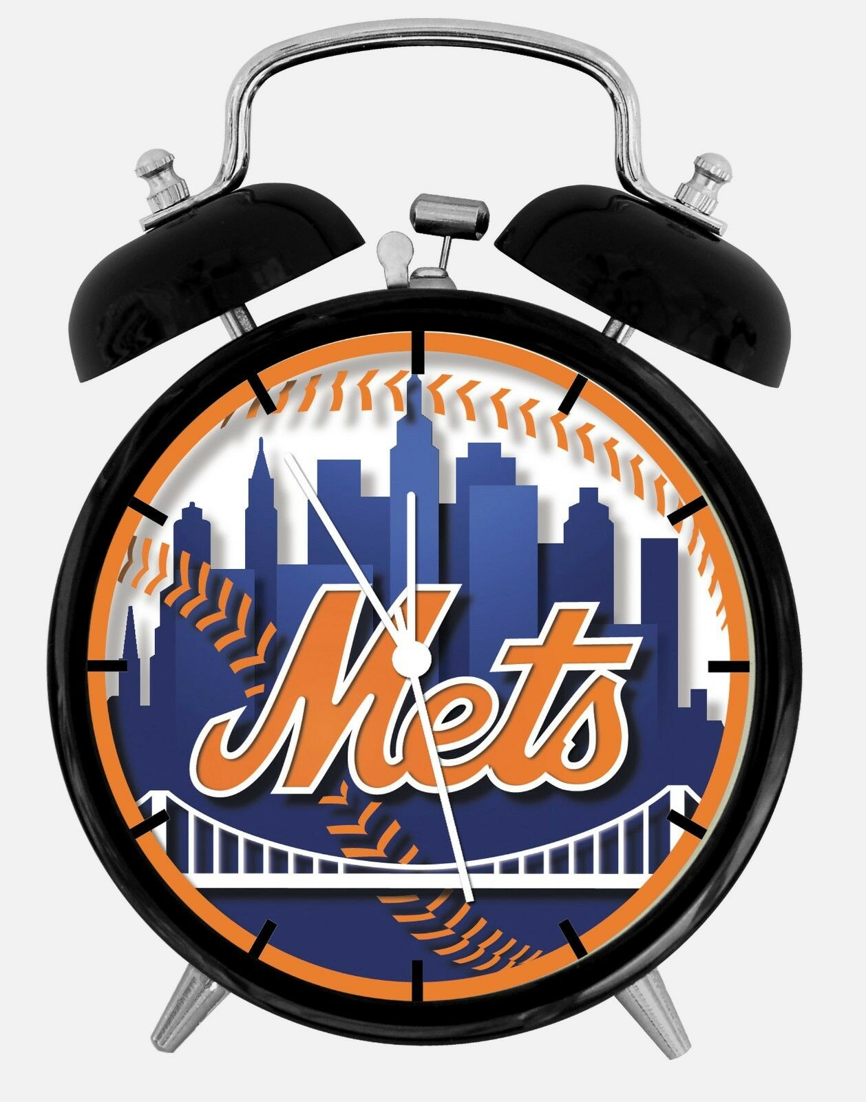 """New York Mets Alarm Desk Clock 3.75"""" Home or Office Decor W137 Nice For Gift"""