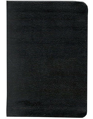 Kjv Compact Large Print Reference Bible  Cbd Edition   Bonded Leather Black