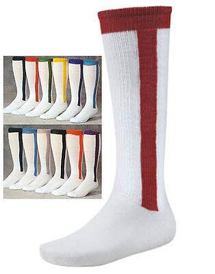 Baseball/Softball Stirrup Two-in-One Socks, One Pair,  New Softball Stirrup Socks