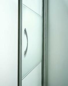 Chrome Bi Fold Shower Doors