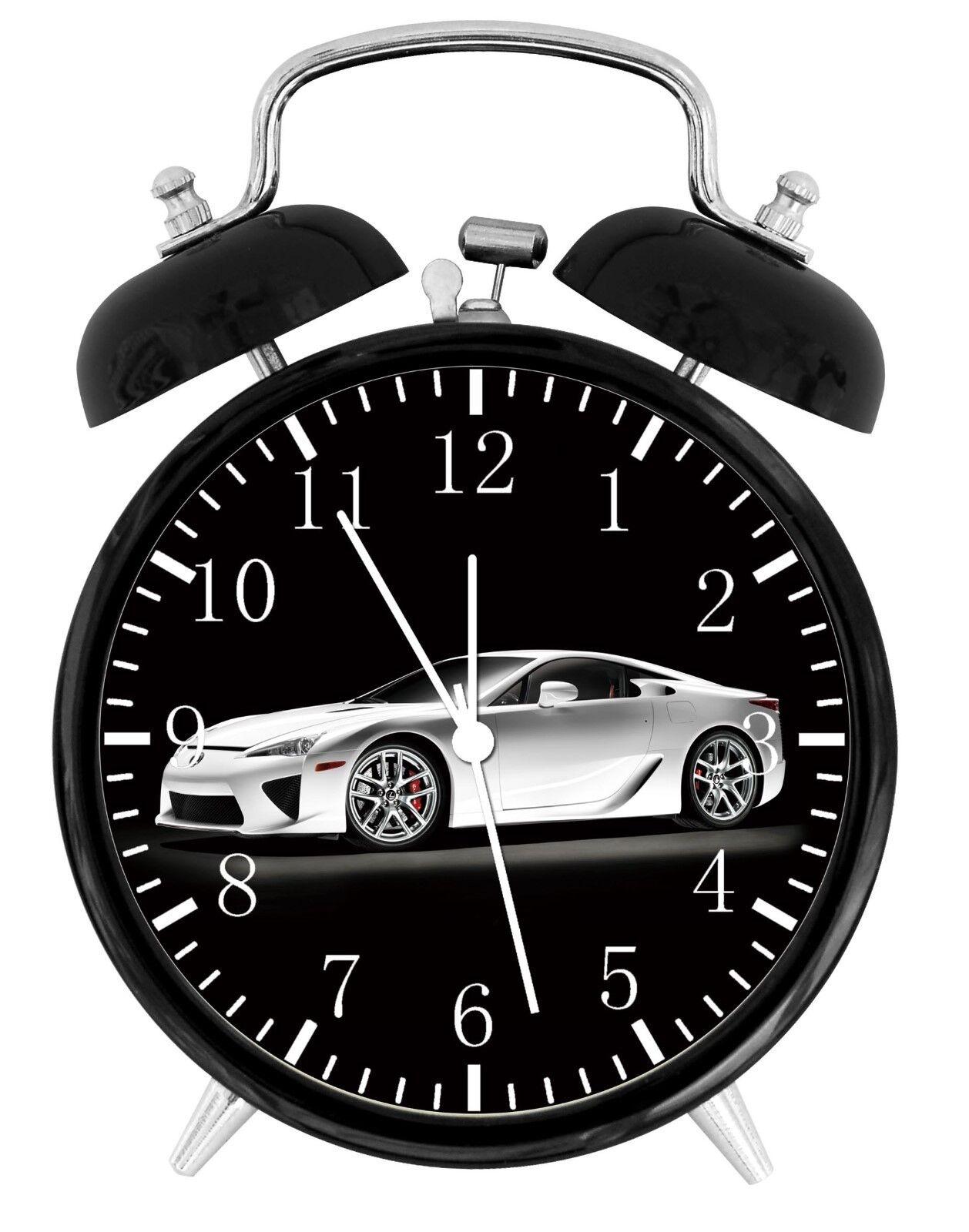 "Super Car LFA Alarm Desk Clock 3.75"" Home or Office Decor W142 Nice For Gift"