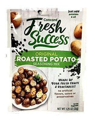 1 pack of Concord Foods Original Roasted Potato Seasoning Mix, 1.25 Oz Pouches