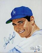 Sandy Koufax Signed Photo