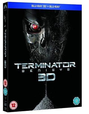 Terminator Genisys (3D Edition with 2D Edition) [Blu-ray]