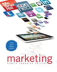 Marketing, 8th Edition hardcover- Crane - textbook