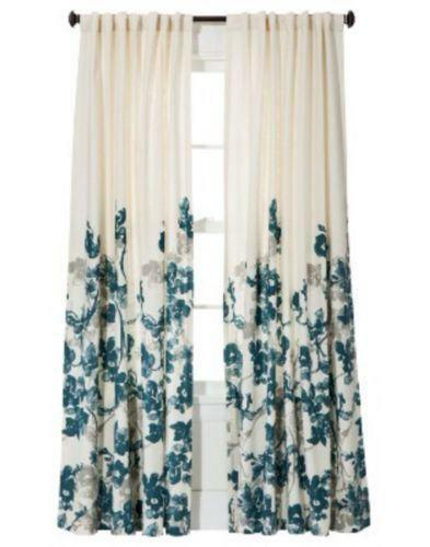 Teal Curtain Panels Ebay
