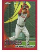 2010 Topps Chrome Red Refractor