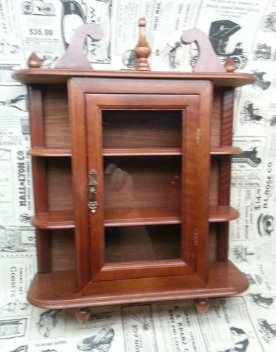 glass curio cabinet