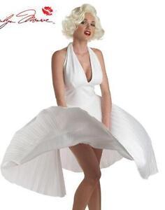 Marilyn Monroe White Dress Costume  sc 1 st  eBay & Marilyn Monroe Dress | eBay