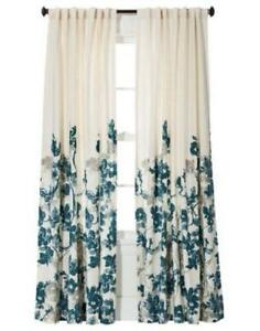 Teal Curtain Panels