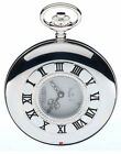 Half Hunter Sterling Silver Modern Pocket Watches