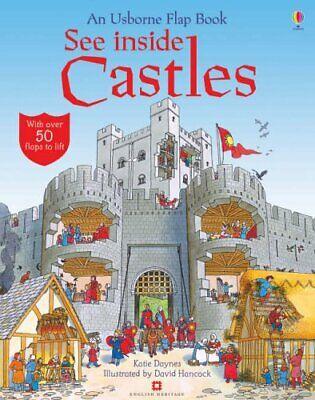 See Inside Castles (Usborne Flap Books) By Katie Daynes, David Hanc*ck
