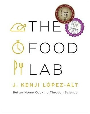 The Food Lab: Better Home Cooking Through Science [New Book] Hardcover,