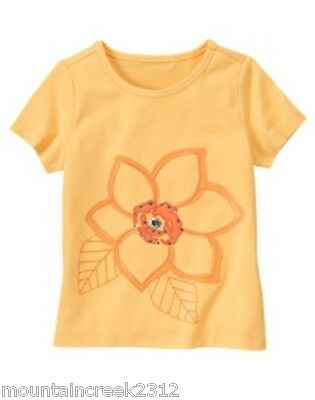 New Gymboree Girls Shirt Tropical Bloom Size 3 4 5 6 7 8 10 12 Floral Cotton Tee