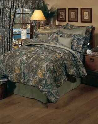 (Realtree Timber Rod Pocket Drapes, 2 Panels, 2 Tie-Back, New, Free Shipping)