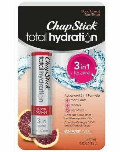 ChapStick Total Hydration Clear Blood Orange