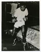 Sugar Ray Robinson Signed