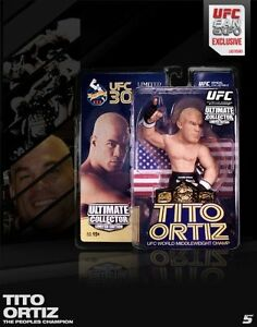 Tito Ortiz USA&Mexican Flag Round 5 UFC Fan Expo Limited Edition