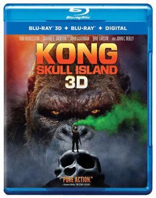 Купить Kong: Skull Island [New Blu-ray 3D] Manufactured On Demand, With Blu-Ray, UV/H