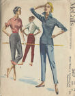 McCall 's Vintage Pants Sewing Patterns