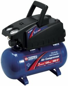 Campbell 2 Gallon Air Compressor for $79