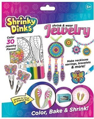 Alex Toys 397J Shrinky Dinks Jewelry, Arts & Crafts For Kids Ages 5yr And Up New