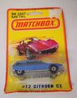 Matchbox Superfast Citroën Vintage Manufacture Diecast Cars